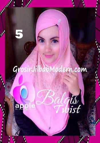 by apple hijab jilbab cantik mewah toko jilbab online branded jual jilbab syria cantik dan mewah balkis twist original by