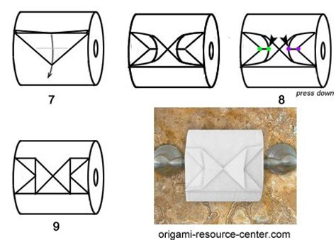Toilet Origami - toilets origami and paper on