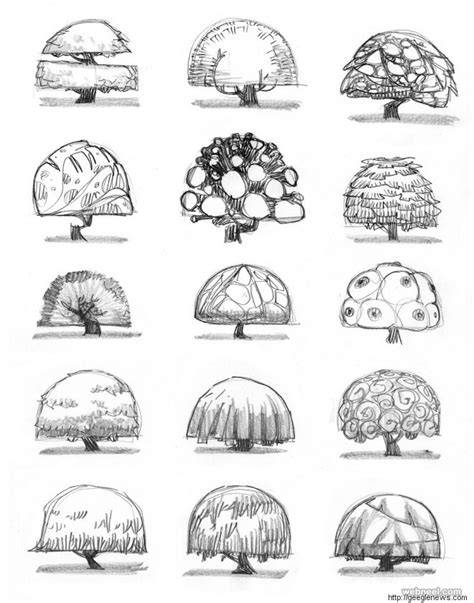 themes for a drawing 30 beautiful tree drawings and creative art ideas from top