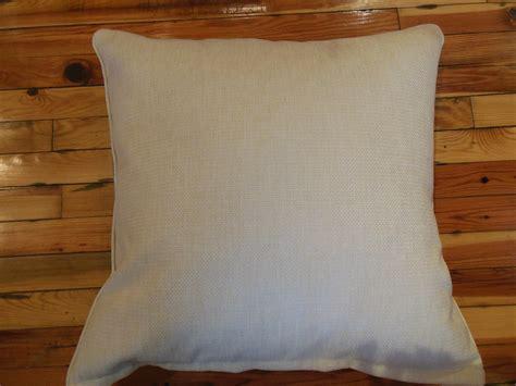 storing pillows blue ikat fabric pillow