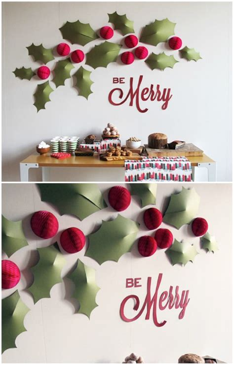 christmas wall decoration ideas 20 magical diy christmas home decorations you ll want