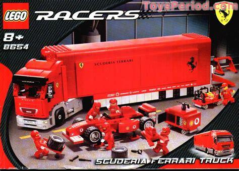 ferrari truck 8654 scuderia ferrari truck set parts inventory and