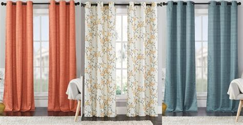 family dollar curtains popular set of 2 blackout curtain panels only 24 99