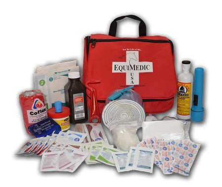 aid kit medicine contents basic equine aid kit