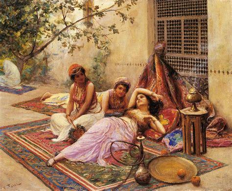 Ottoman Empire Harem Harem Inspiration For Painters Arabic Taste Of Orient Ethnographic Materials Ml