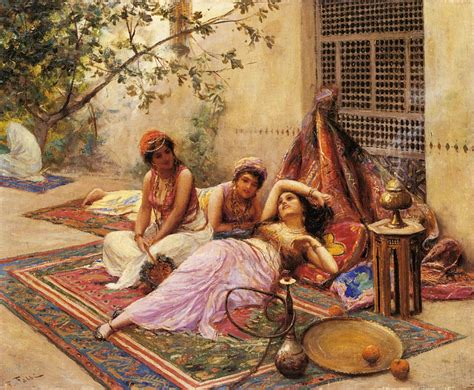 Ottoman Concubine Harem Inspiration For Painters Arabic Taste Of Orient Ethnographic Materials Ml