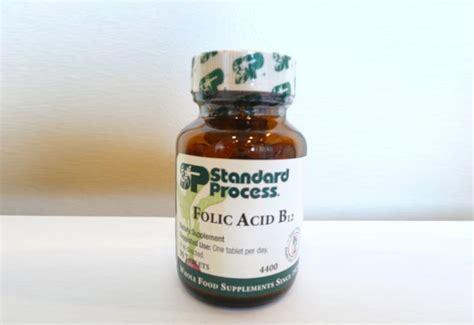 Vitamin Formom folic acid inhabitots