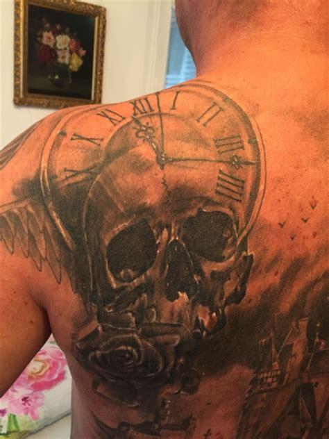 jr uhr mit totenkopf tattoos von tattoo bewertung de
