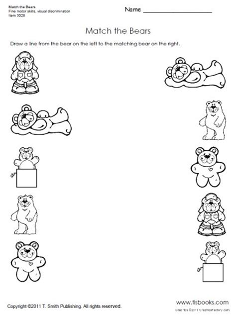 printable worksheets for preschoolers matching free matching objects worksheets for preschoolers the