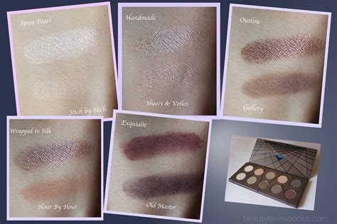 Zoeva Eyeshadow Fix Review beautylovesbooks zoeva en taupe eyeshadow palette review and swatches