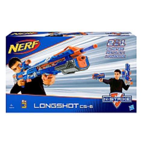 nerf car shooter hasbro nerf n strike elite longshot cs 6 von toys r us