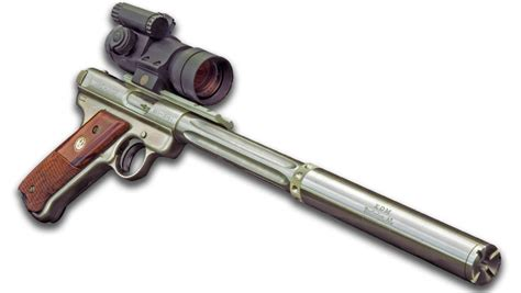 American Rifleman   Suppressed Ruger Mark III: The ?Star