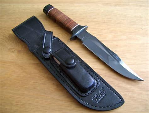 sog bowie sheath sog s1 bowie original sog knives collectors