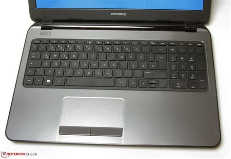 Touchpad Compaq review hp compaq 15 h024sg notebook notebookcheck net reviews
