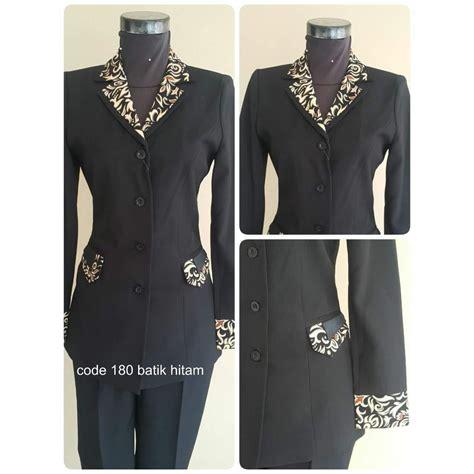 Setelan Blazer setelan baju blazer exclusive blazer batik wanita warna