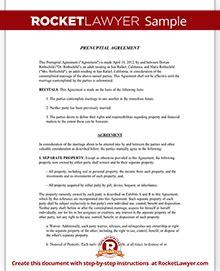 prenuptial agreement new york template prenuptial agreement form prenup template rocket lawyer