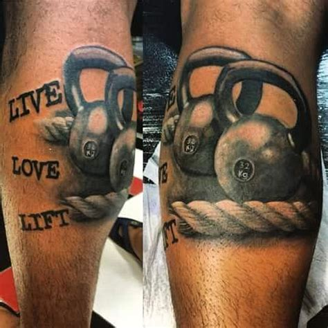 crossfit tattoos 54 best and dumbells tattoos ideas images on