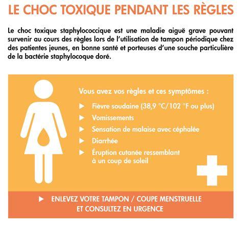 coupe menstruelle et tons attention au choc toxique