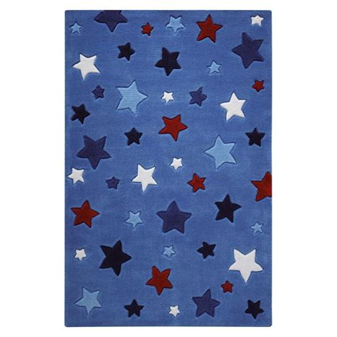 Tapis Bebe Garcon by Tapis Etoiles Multicolor Bleu B 233 B 233 Gar 231 On Par Smart