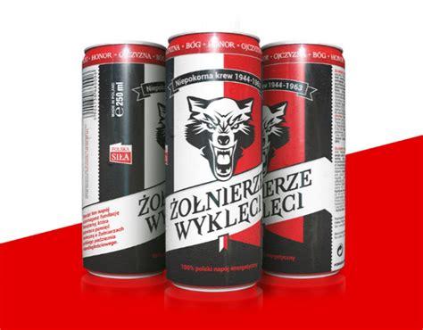 energy drink w ci y żołnierze wyklęci energy drink branding patriotyczny