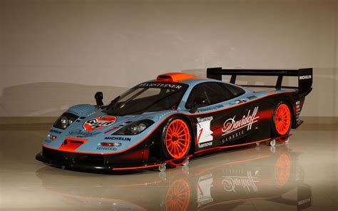 gulf car gulf mclaren f1 gtr longtail to be auctioned the mclaren