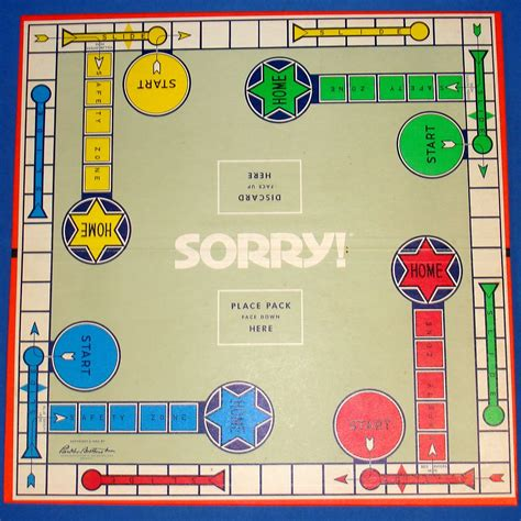 sorry board card template 7 best images of printable sorry board pieces