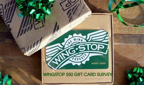 Wingstop Gift Card - wingstop survey 50 wingstop gift card survey sweepstakes rules terms