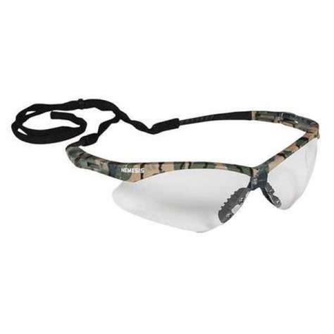 Jackson Nemesis Safety Glasses With Camo Frame And Clear