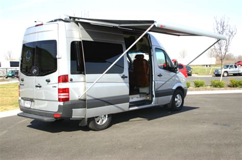 Mercedes Sprinter Awning by Handicap Sprinter Custom Rs