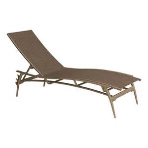 Tropitone Chaise Lounge Tropitone Echo Sling Chaise Lounge Outdoor Chaises Lounges Outdoor Seating Furniture