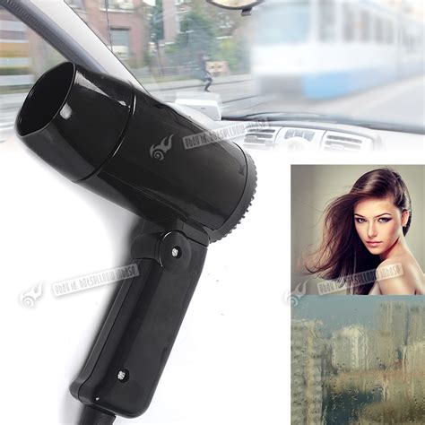 Hair Dryer In Car 12 volt in car hair dryer folding handle vehicle power