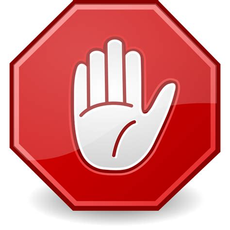 Stop With The by File Dialog Stop Svg Wikimedia Commons