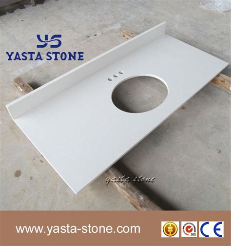 Countertop Wholesale by High Quality Polished Antiacid Quartz Countertop Wholesale