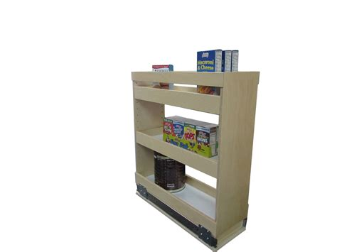 Pull Out by Slide Out Spice Rack Made To Fit Spice Rack Shelving