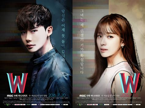 film korea genre romance sedih w two worlds dubu fansub