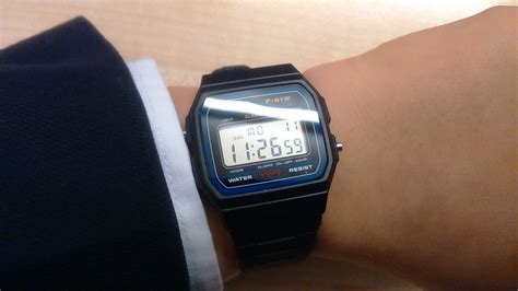 Casio F 91w 3d casio f91w 1 classic resin digital