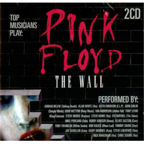 pink floyd the wall guitar recorded versions books various top musicians play pink floyd the wall cd