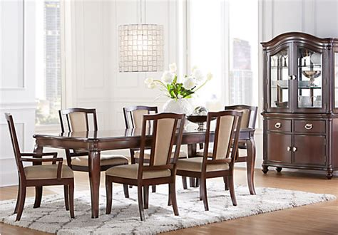 Riverdale Cherry 5 Pc Rectangle Dining Room Dining Room Sets Wood Mansell Manor Cherry 5 Pc Rectangle Dining Room Dining Room Sets
