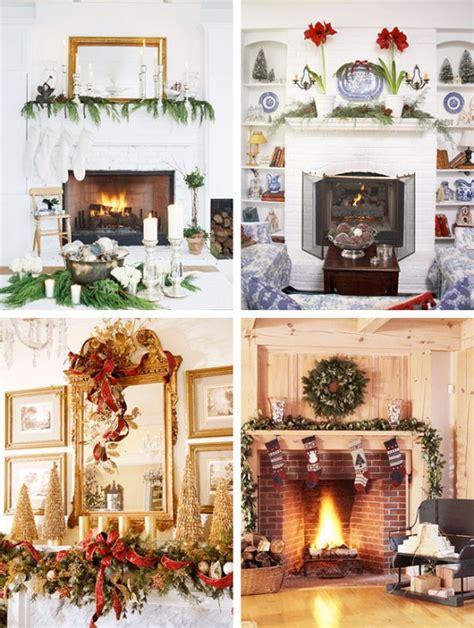 bilder kaminsims dekoriert fã r weihnachten 35 weihnachtsdeko ideen f 252 r einen festlichen kamin