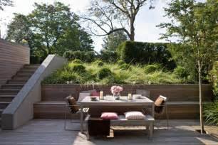 terrasse auf stelzen am hang g 228 rten am hang roomido