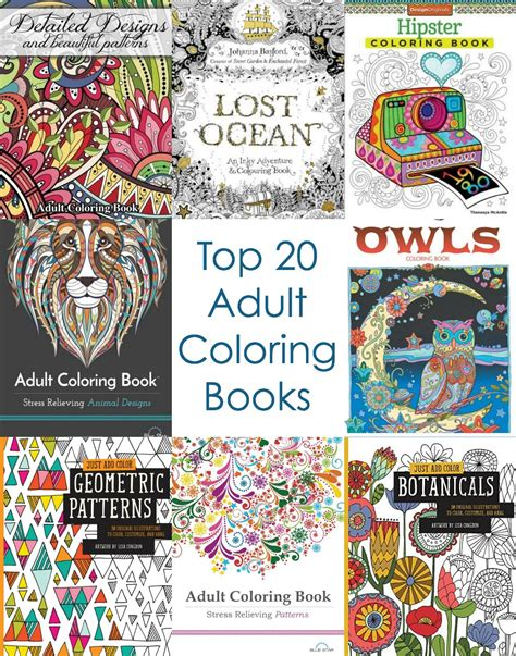 coloring books for adults to buy coloring books to buy the country chic cottage