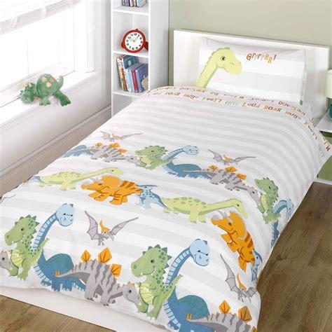 Junior Cot Bed Duvet Set Dinosaurs Junior Duvet Cover Set Cot Bed Toddler