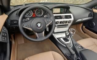 2010 bmw 650i convertible interior photo 3