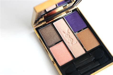 Eyeshadow Ysl thenotice ysl marrakesh sunset palette swatches review photos ysl s summer 2013 5 colour