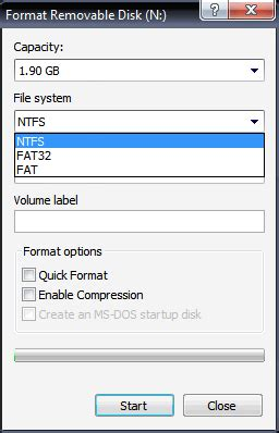format cd ntfs how to use pen drive or usb flash drive drive with ntfs