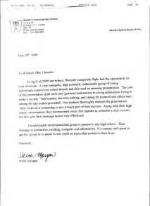 Sle Letter Of Recommendation For High School Student by High School Recommendation Letter Sle