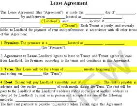renting lease template lease agreement create a free rental agreement form