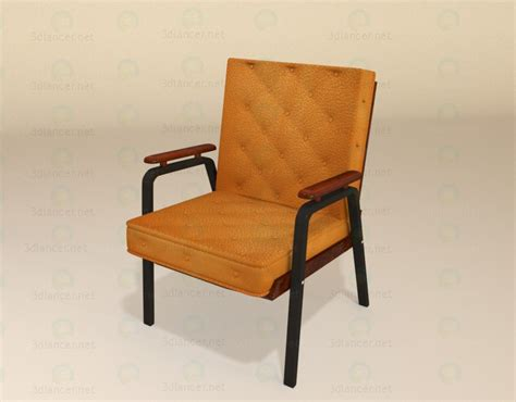 Free Armchair by 3d Model Armchair For Free On 3dlancer Net