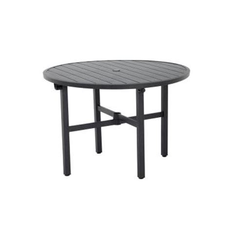 Martha Stewart Patio Table Martha Stewart Living Franklin Park 42 In Patio Dining Table Ftm10159 The Home Depot