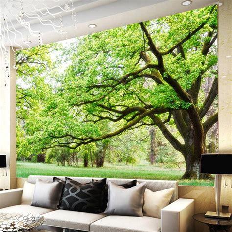 wallpaper dinding rumah 3d penjualan panas busana hutan 3d wallpaper dinding rumah